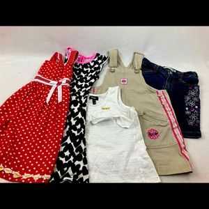 Lot girl clothing size 6/6x (5ct)